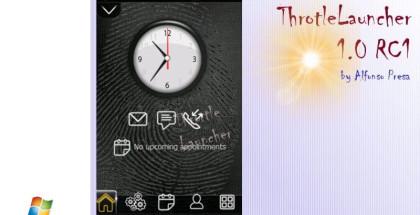 ThrottleLauncher, Windows Mobile Freeware, download free apps