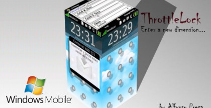 ThrottleLock, Windows Mobile freeware, Software for Windows smartphones