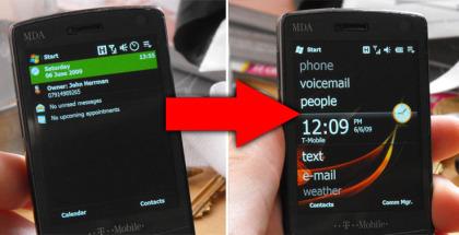 Windows Mobile 6.1, WM 6.5, Windows Phones