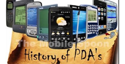 History of PDAs, smartphone history, pocketpc history