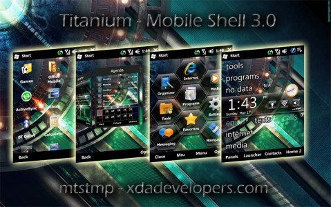 WM6.5 theme for Mobile Shell 3