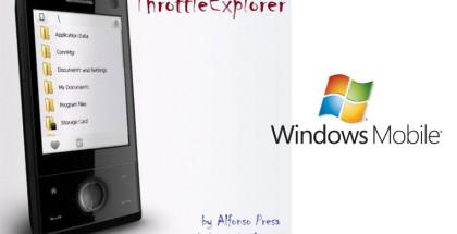 ThrottleExplorer, Windows Mobile, WM6.5 freeware