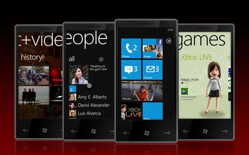Windows Phone 7, WP7, Windows Phone Metro UI