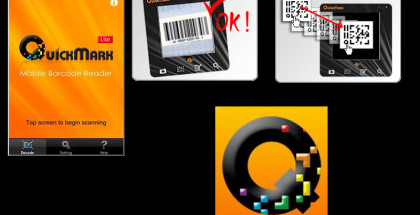 QuickMark, QR code scanners, Scan QR codes Windows Mobile