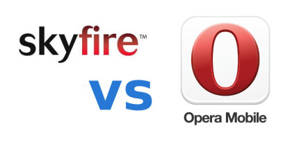 Skyfire, Opera Mobile, Browsers for Windows