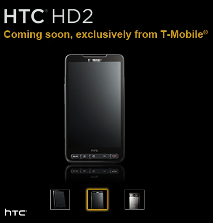HTC HD2 T-Mobile