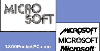 Microsoft logos, old MSFT logo, New Micro Soft logo