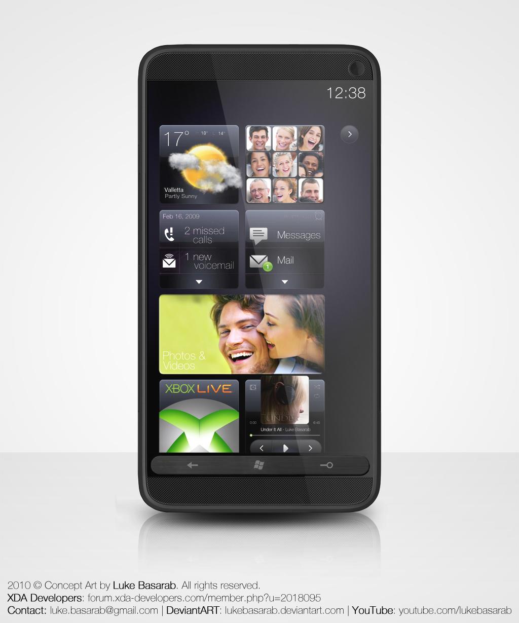 HTC HD7-concept