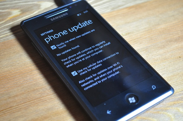 WP7 enable Updates