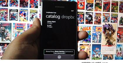Comic books on Windows phone, read mobile comic books, download comics