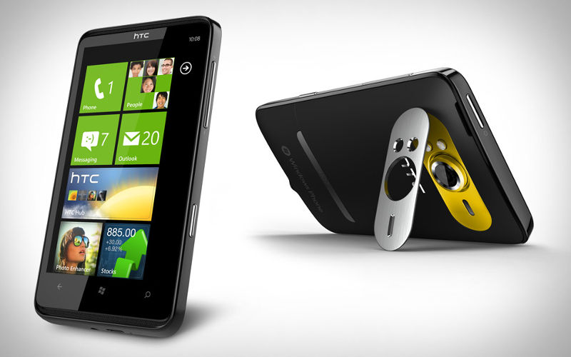 HTC HD7 ROM, HTC HD7 update, Windows Phone 7.8 and 7.5