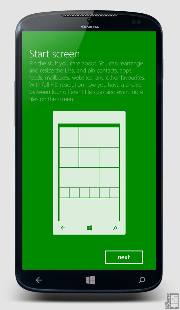 3-Start screen