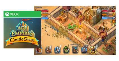 Age of Empires: Castle Siege, Xbox Live games, Xbox for Windows