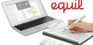 Equil Smartpen 2 Works With Windows, Turns Real Ink and Paper Into Digital Drawing, Writing Paradise