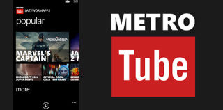 MetroTube Updated With Redesigned Video Page and Portrait Scrubbing