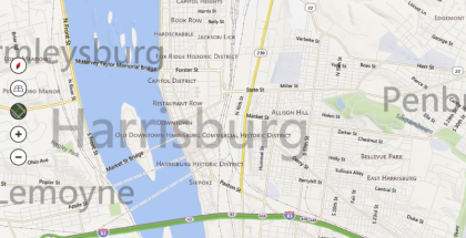 Bing Maps, Windows 8 Bring Maps Preview