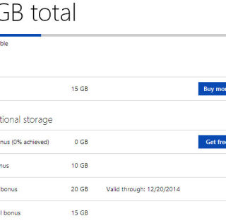 OneDrive Base Storage Increases to 30GB With Camera Roll Turned On