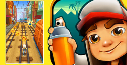 Subway Surfers, Windows Phone Game, WP games