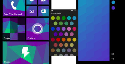 Theme Plus, Start Screen customization, themes for WP