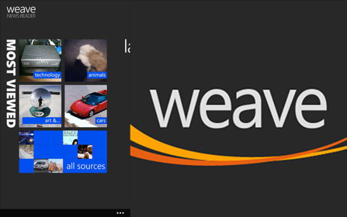 Weave, RSS readers, News apps