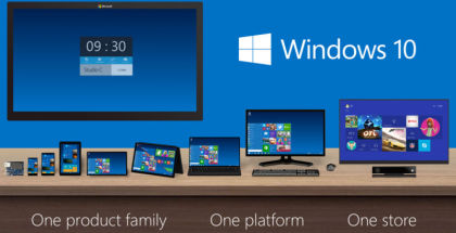Windows 10, unified OS, Windows 10 for business