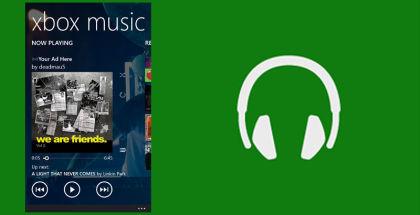 Xbox Music, Xbox, Microsoft