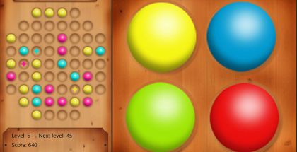 Balls in Line for Windows, Match 3 games, Windows Phone smartphone games