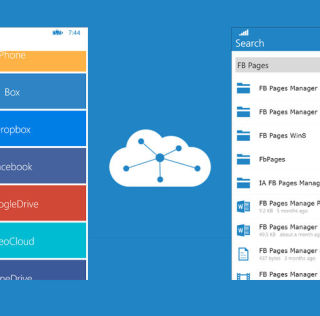 CloudMesh for Windows Phone Brings All Your Cloud Storage Services Under One Roof