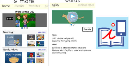 Illustrate, Video Dictionary, Education studying apps