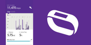 Microsoft Band receives a firmware update via new Microsoft Health Windows Phone app