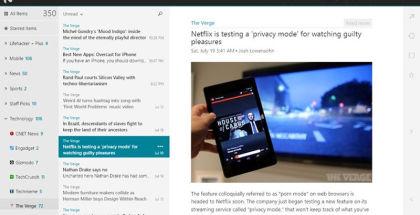 NextGen Reader, RSS Readers, Google Reader alternatives
