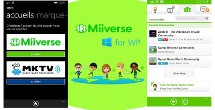 Nintendo Miiverse for Windows Phone, WP Miiverse apps, Wii U and Nintendo 3DS mobile apps