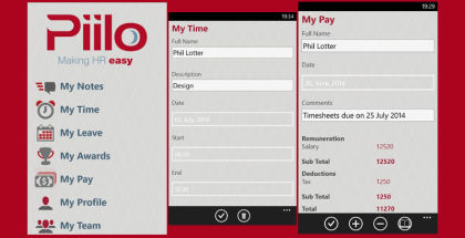 Piilo for small businesses, HR management apps, Payroll managing software