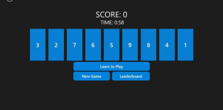 Revers9 is a Challenging 60-Second Pick-Up-and-Play Puzzle Game for Windows Phone, Tablet and PC