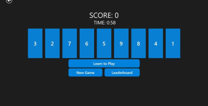 Revers9, puzzle games for Windows, Windows Phone gaming
