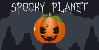 Spooky Planet, Halloween games, Windows phone and tablet game