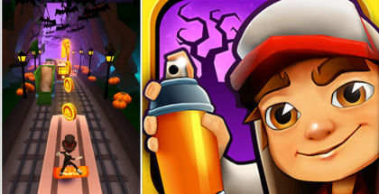 Subway Surfers, Halloween games, Subway Surfers World tour