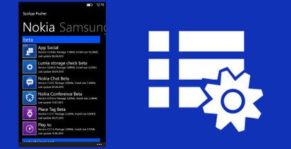 SysApp Pusher, Windows phone updates, App update