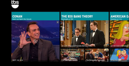Stream Big Bang Theory, TBS shows for Windows, TV Streaming apps