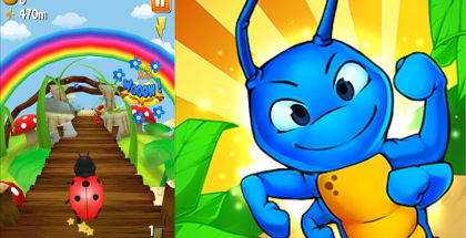 Turbo Bugs Survival Run, Endless running games, Social games