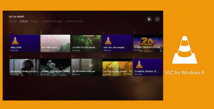 VLC Media pLayer, VLC for Windows 8, VLC for Windows Phone