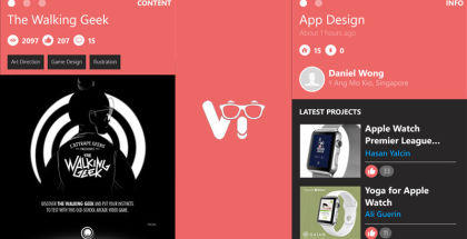 Behance for Windows Phone, View app for Windows smartphones, Behance apps