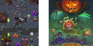 Warspear Online 4.4: Median Night Holiday Gives Players Halloween Treats