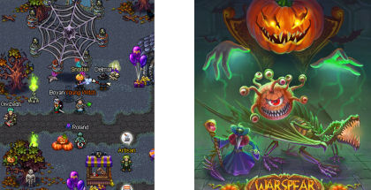 Warspear Online, AIGRIND games, MMORPG Online