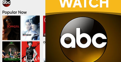Watch ABC, TV streaming apps, video streaming