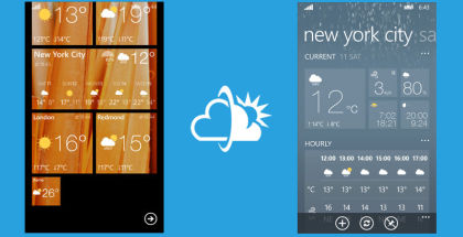 Weather Flow, News and weather apps, Best weather app on Windows Phone