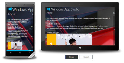 Windows App Studio, Windows Developers, Windows App development
