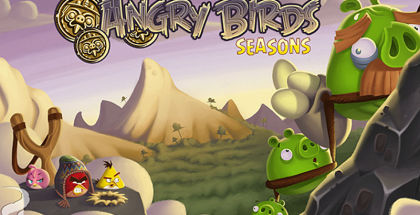 Angry Birds Seasons, Angry Birds game, Rovio games
