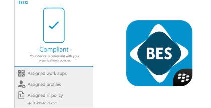 BlackBerry BES12, Work apps, business software