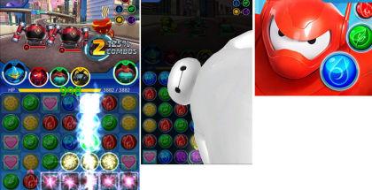 Big Hero 6 Bot Fight, Big Hero 6 movie, Disney Digital games